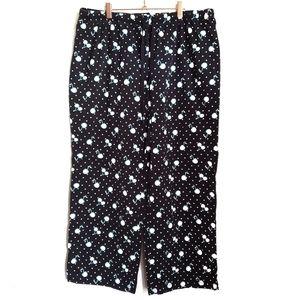 Cacique Intimates Cherry Fleece Pajama Pants 18/20